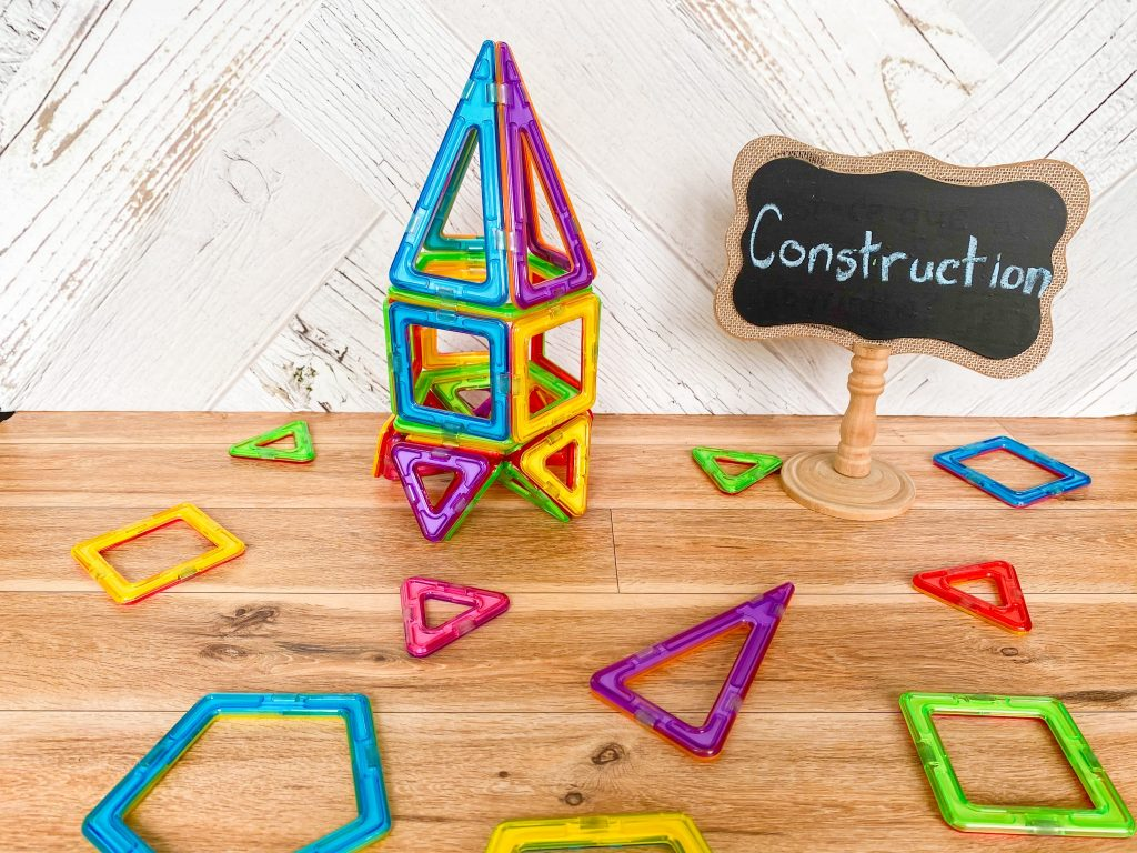 Construction activity for the first day of grade 1